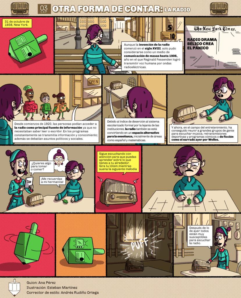 El origen del mañana. Capítulo 3